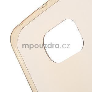 Béžový ultra slim obal pre Samsung Galaxy S6 Edge - 4