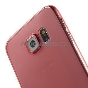 Ultra tenký obal na Samsung Galaxy S6 - červený - 4