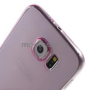 Ultra tenký obal na Samsung Galaxy S6 - rose - 4