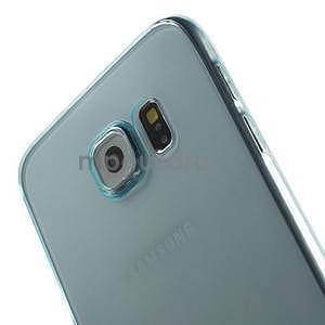 Ultra tenký obal pre Samsung Galaxy S6 - svetlo modrý - 4
