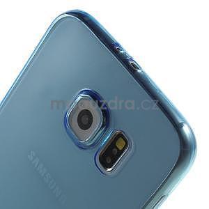 Ultra tenký obal pre Samsung Galaxy S6 - modrý - 4