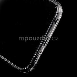 Šedý hybridný gélový obal na Samsung Galaxy S6 Edge - 4
