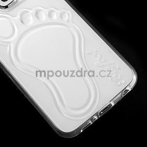 Protiskluzový gélový kryt na Samsung Galaxy S6 - transparentný - 4