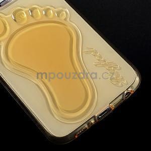 Protiskluzový gélový kryt na Samsung Galaxy S6 - zlatý - 4