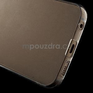 Ultra tenký gélový obal pre Samsung Galaxy S6 Edge - tranparentní - 4