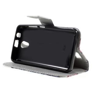 Styles peněženkové pouzdro na mobil Lenovo A319 - kocour - 4