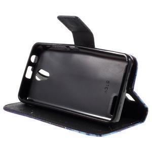 Styles peněženkové pouzdro na mobil Lenovo A319 - vlci - 4