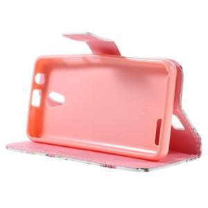 Styles peňaženkové puzdro pre mobil Lenovo A319 - kvetiny - 4