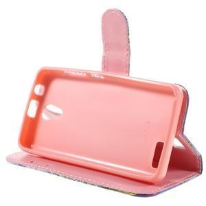Styles peňaženkové puzdro pre mobil Lenovo A319 - púpava - 4