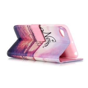 Style peňaženkové puzdro pre mobil Lenovo S90 - neprestávaj sniet - 4
