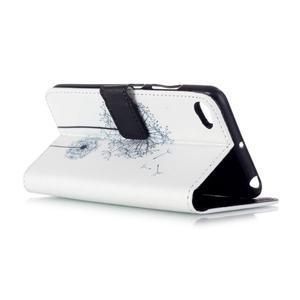 Style peňaženkové puzdro pre mobil Lenovo S90 - púpava - 4