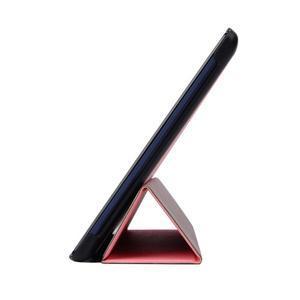 Trifold polohovatelné puzdro pre Lenovo Tab 2 A10-70 - ružové - 4