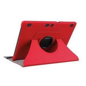 Puzdro s otočnou funkciou pre tablet Lenovo Tab 2 A10-70 - červené - 4