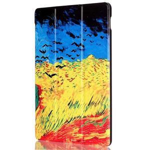 Polohovatelné puzdro pre tablet Lenovo Tab 2 A10-70 - umelecká malba - 4