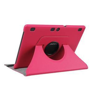 Puzdro s otočnou funkciou pre tablet Lenovo Tab 2 A10-70 - rose - 4