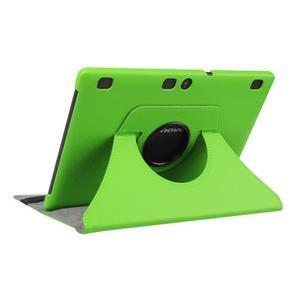 Puzdro s otočnou funkcí na tablet Lenovo Tab 2 A10-70 - zelené - 4