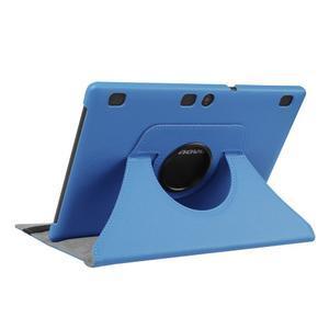 Puzdro s otočnou funkciou pre tablet Lenovo Tab 2 A10-70 - svetlomodré - 4