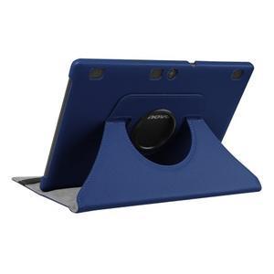 Puzdro s otočnou funkciou pre tablet Lenovo Tab 2 A10-70 - tmavomodré - 4