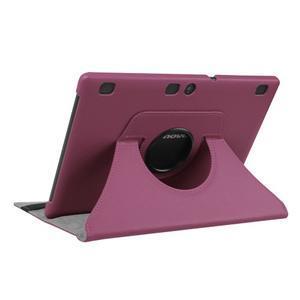 Puzdro s otočnou funkcí na tablet Lenovo Tab 2 A10-70 - fialové - 4