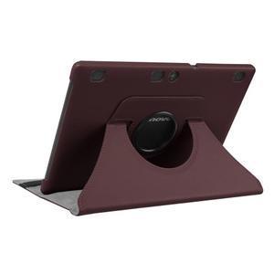 Puzdro s otočnou funkcí na tablet Lenovo Tab 2 A10-70 - tmavěhnědé - 4