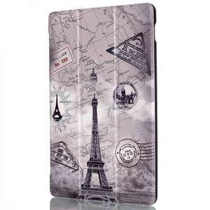 Polohovatelné puzdro pre tablet Lenovo Tab 2 A10-70 - Eiffelova veža - 4