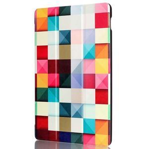 Polohovatelné puzdro pre tablet Lenovo Tab 2 A10-70 - farebné kostky - 4