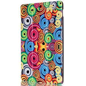 Polohovatelné puzdro pre tablet Lenovo Tab 2 A10-70 - farebné kruhy - 4