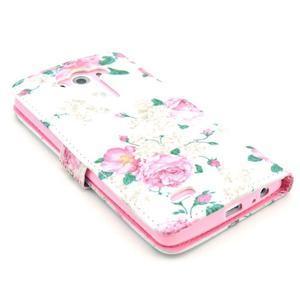 Obrázkové puzdro pre mobil LG G3 - kvetiny - 4