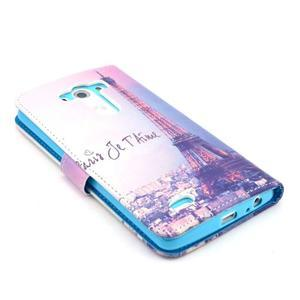 Obrázkové puzdro pre mobil LG G3 - Eiffelova veža - 4