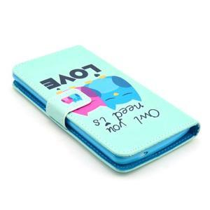 Obrázkové puzdro pre mobil LG G3 - soví láska - 4