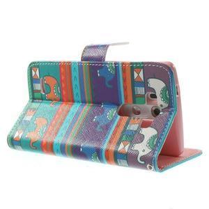 Obrázkové puzdro pre mobil LG G3 - tribal - 4
