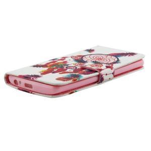 Obrázkové koženkové puzdro pre mobil LG G3 - lapač snov - 4
