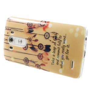 Gélový kryt pre mobil LG G3 - lapače snov - 4