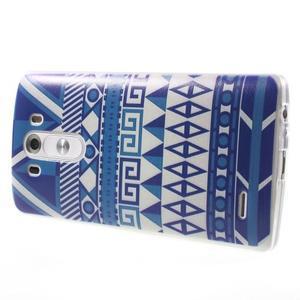Silks gelový obal na mobil LG G3 - geo tvary - 4