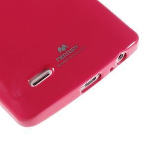 Odolný gélový obal pre mobil LG G3 - rose - 4