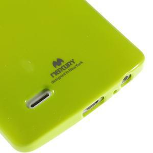 Odolný gelový obal na mobil LG G3 - zelený - 4