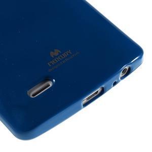 Odolný gélový obal pre mobil LG G3 - tmavomodrý - 4