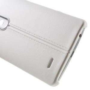 Lines gélový kryt pre mobil LG G3 - biely - 4