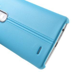 Lines gelový kryt na mobil LG G3 - modrý - 4