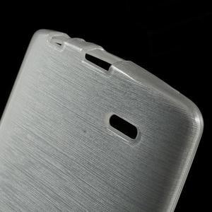 Brush gelový obal na LG G3 - bílý - 4