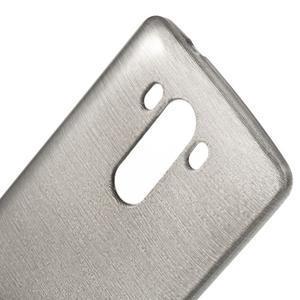 Brush gélový obal pre LG G3 - sivý - 4