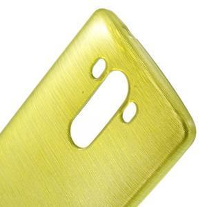 Brush gélový obal pre LG G3 - zelený - 4