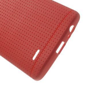 Silks gélový obal pre LG G3 - červený - 4