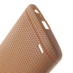 Silks gélový obal pre LG G3 - oranžový - 4
