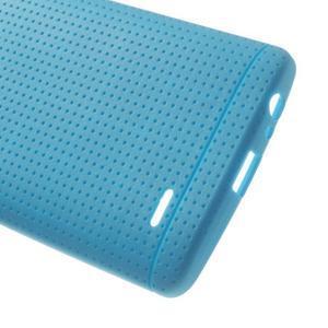 Silks gelový obal na LG G3 - modrý - 4