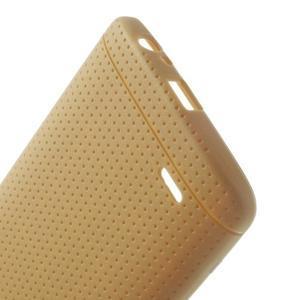 Silks gelový obal na LG G3 - hnědý - 4