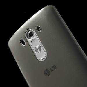 Ultratenký slim obal na mobil LG G3 - šedý - 4