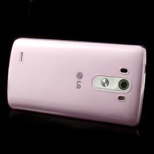 Ultratenký slim obal na mobil LG G3 - rose - 4