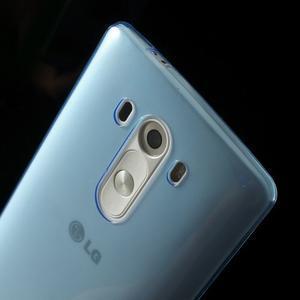 Ultratenký slim obal pre mobil LG G3 - modrý - 4
