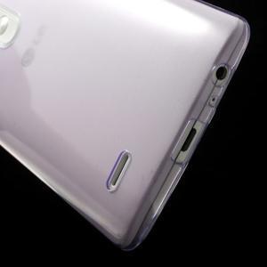 Ultratenký slim obal pre mobil LG G3 - fialový - 4